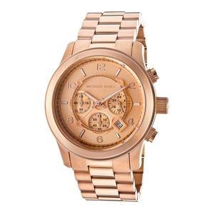 Michael Kors MK8096 Rose Gold Runway Watch